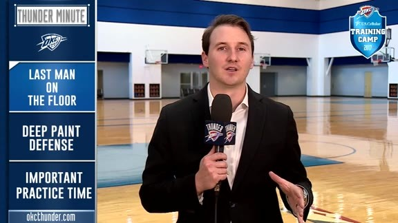 Thunder Minute: Training Camp - 10/14