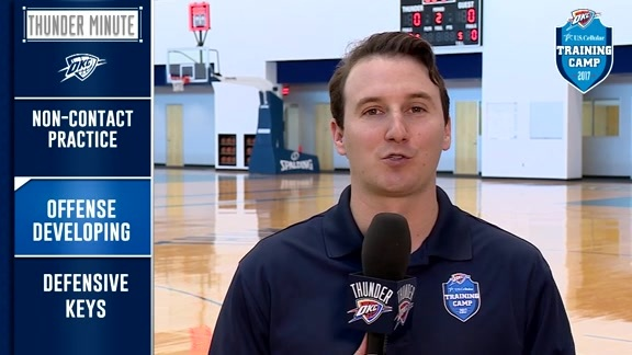 Thunder Minute: Training Camp - 10/16