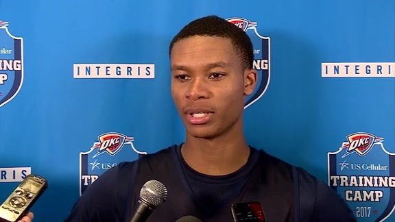 Camp Talk: Westbrook, Roberson, Donovan and Dozier - 10/17