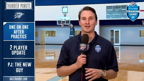 Thunder Minute: Training Camp - 10/17
