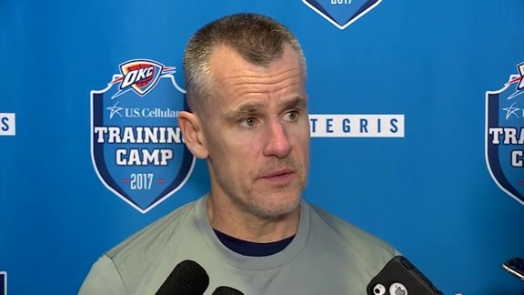 Camp Talk: Coach Donovan - 10/18