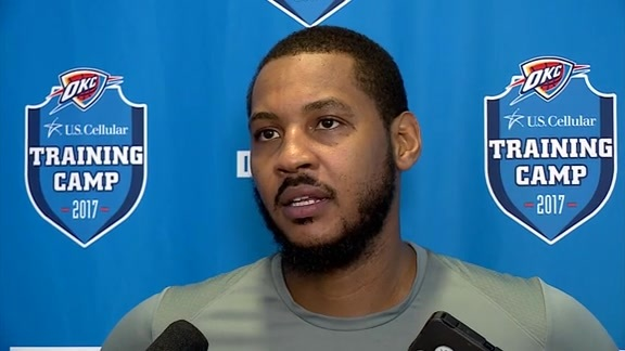 Camp Talk: Carmelo Anthony - 10/18