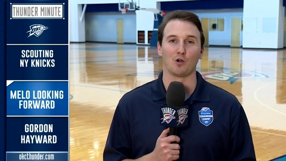 Thunder Minute: Training Camp - 10/18