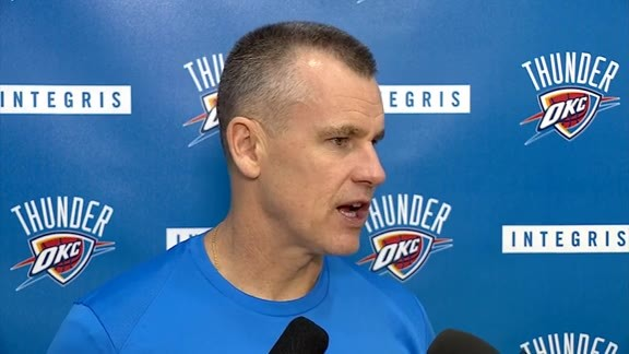 Thunder Talk: Coach Donovan - 10/20