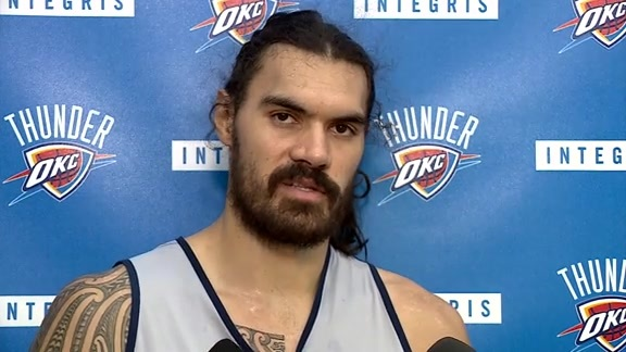 Thunder Talk: Steven Adams - 10/20