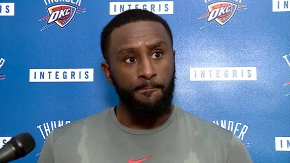 Thunder Talk: Patrick Patterson - 10/20