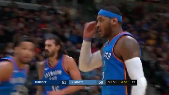 Highlights: Carmelo Anthony (28 points) at Nuggets