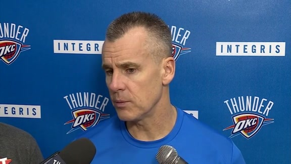 Thunder Talk: Coach Donovan - 11/14