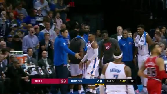 Highlights: Thunder Defense vs. Bulls