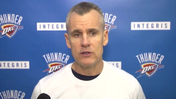 Thunder Talk: Coach Donovan - 11/16