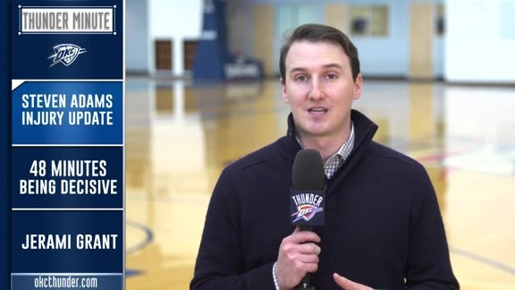 Thunder Minute: Nov. 16