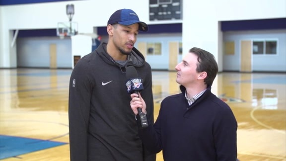 1-on-1: Andre Roberson - 11/17