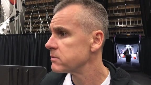 Game Day: Coach Donovan - 11/17