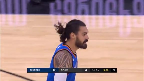 Highlights: Steven Adams (16 points) at Spurs