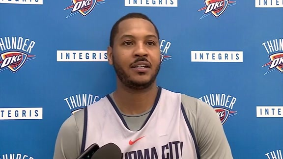 Thunder Talk: Carmelo Anthony