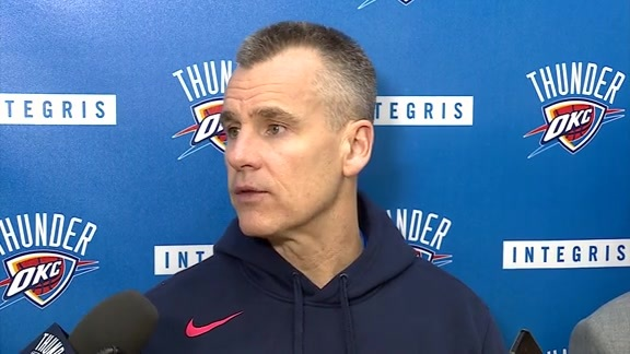 Thunder Talk: Coach Donovan - 11/21