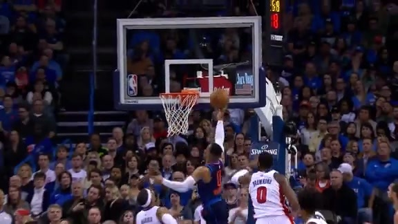 Highlights: Russell Westbrook vs. Pistons