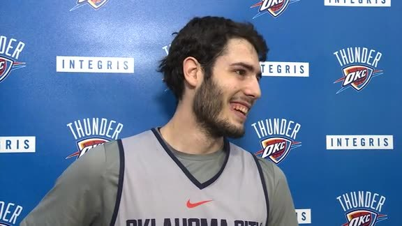 Game Day: Alex Abrines - 12/11