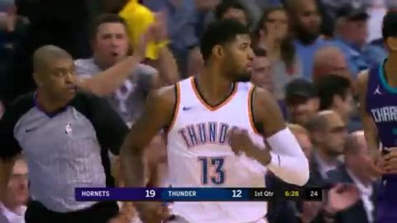 Highlights: Paul George (20 points) vs. Hornets