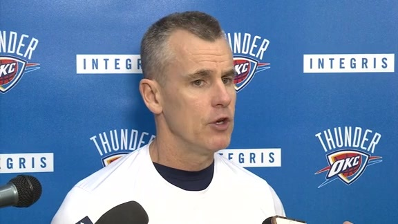 Thunder Talk: Coach Donovan - 12/12