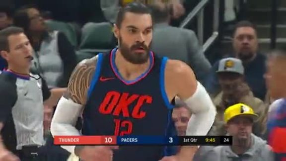 Thunder-Pacers Highlights