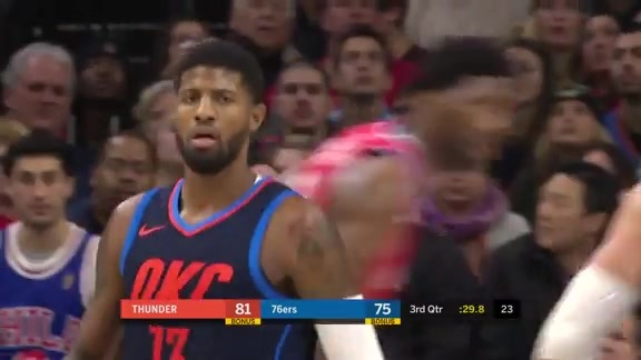 Highlights: Paul George at Sixers