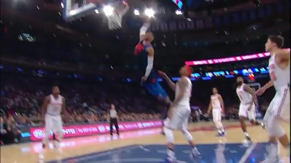 Highlights: Thunder at Knicks - 12/16