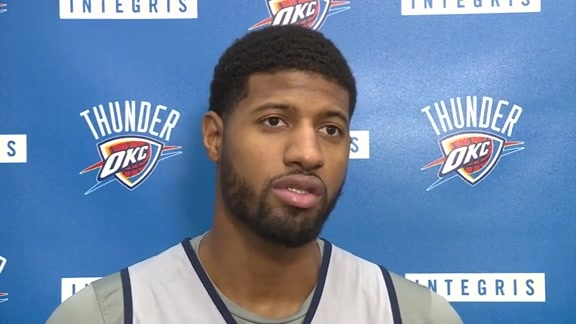 Game Day: Paul George - 12/18
