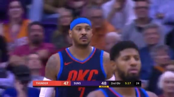 Highlights: Thunder at Suns - 1/7/18