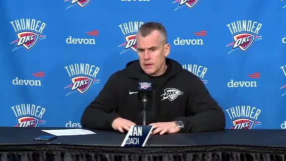 Postgame: Thunder vs. Trail Blazers