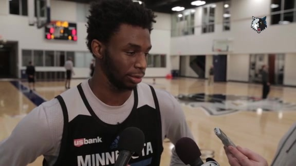 Shootaround Access - Nov. 25 | Andrew Wiggins