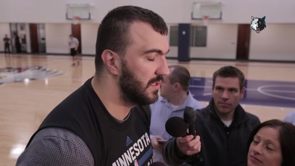 Shootaround Access - Dec. 1 | Nikola Pekovic
