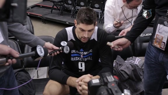 Shootaround Access - Dec. 1 | Nikola Vucevic