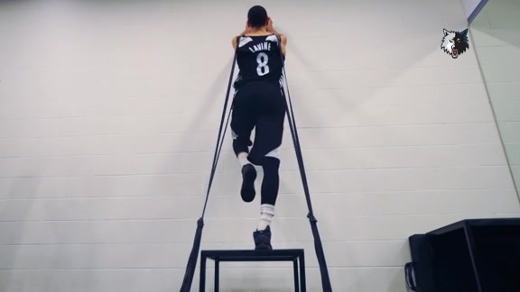 Behind The Scenes | A Zach LaVine Workout