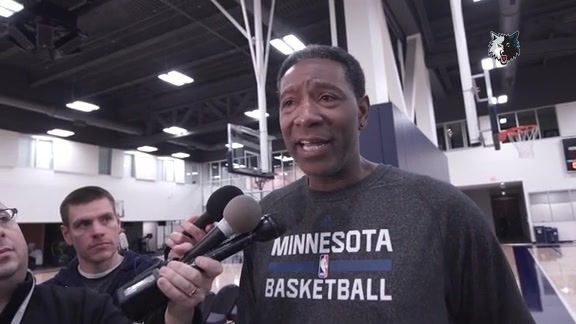 Practice Report - Feb. 5 | Sam Mitchell