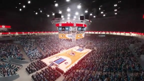 Target Center Scoreboard Animation