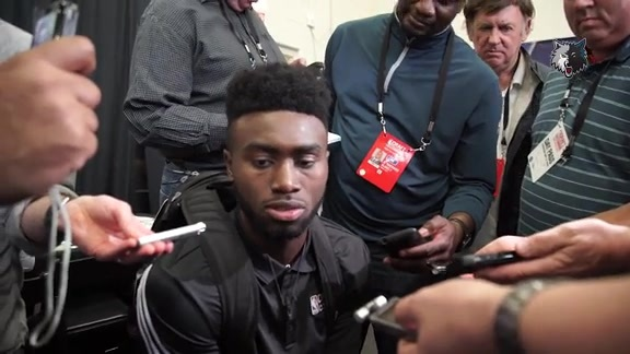 Combine Interview | Jaylen Brown