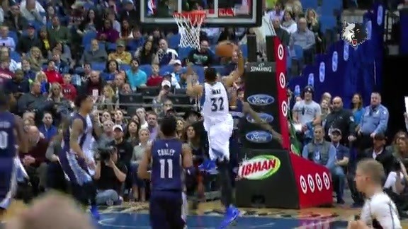 Top 5 Plays Of The Season   Karl-Anthony Towns