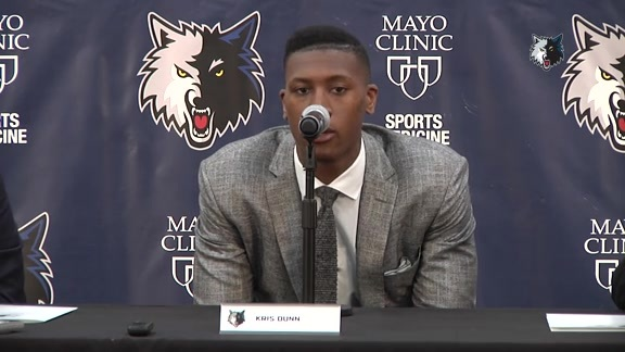 Press Conference | Wolves Introduce Kris Dunn
