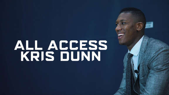 All Access | Kris Dunn Arrives In Minnesota