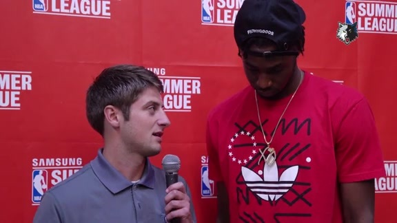 Catching Up With Wiggins At Summer League