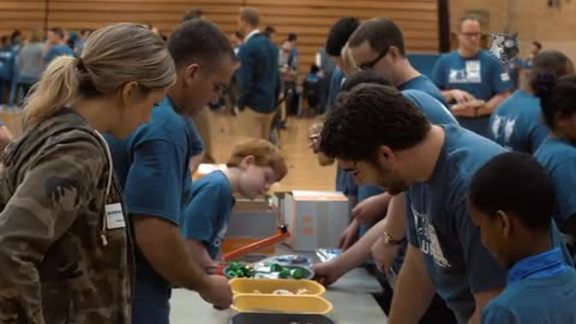 Timberwolves & Lynx All-Staff Volunteer Event