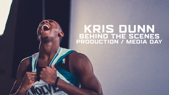 Production Day Behind The Scenes | Kris Dunn