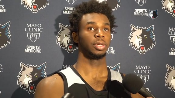 Practice Report - Oct. 3 | Andrew Wiggins