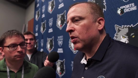 Practice Report - Oct. 6 | Tom Thibodeau