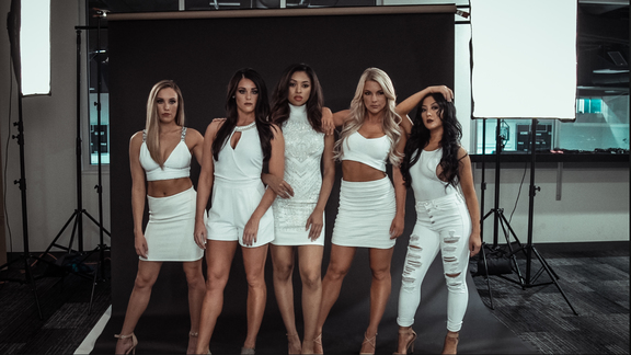 Timberwolves Dancers   Behind The Scenes Photoshoot