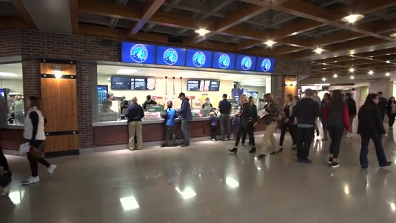 Fans Give Feedback To New Target Center Food