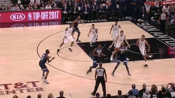 Butler's First Bucket With Wolves