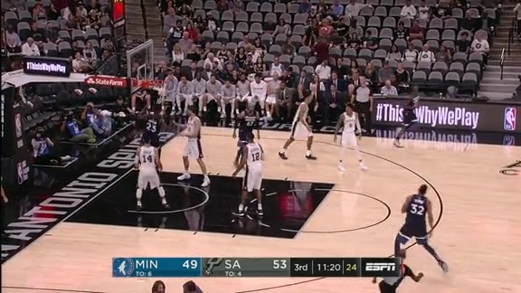 Teague Hits Butler With The Oop