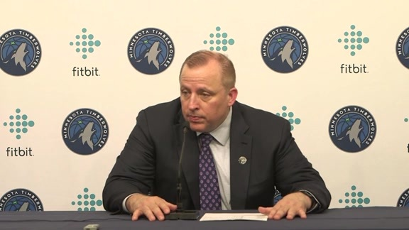 Postgame - Oct. 20 | Tom Thibodeau